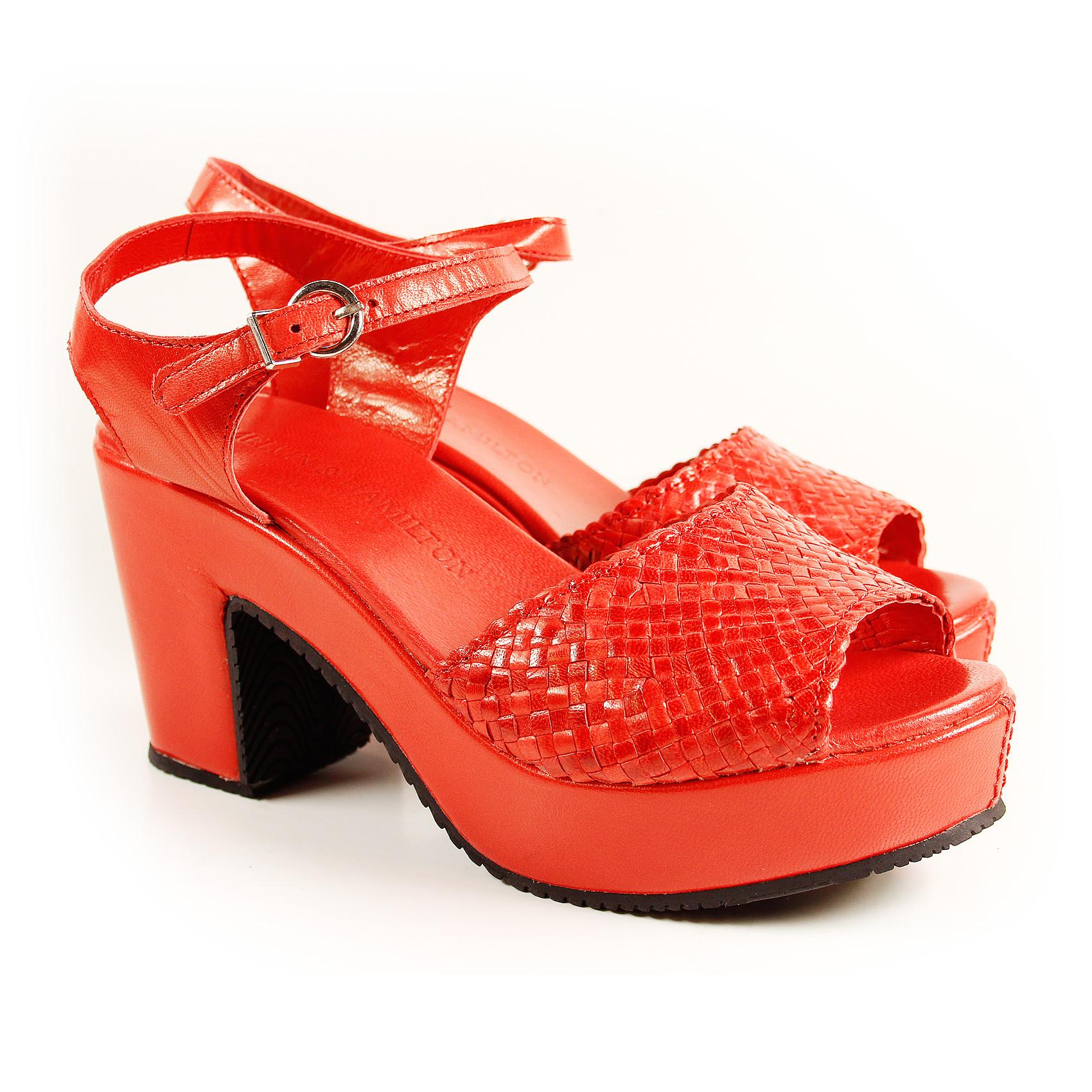 siri 1 rojo sandalen auslaufmodelle melvin hamilton. Black Bedroom Furniture Sets. Home Design Ideas