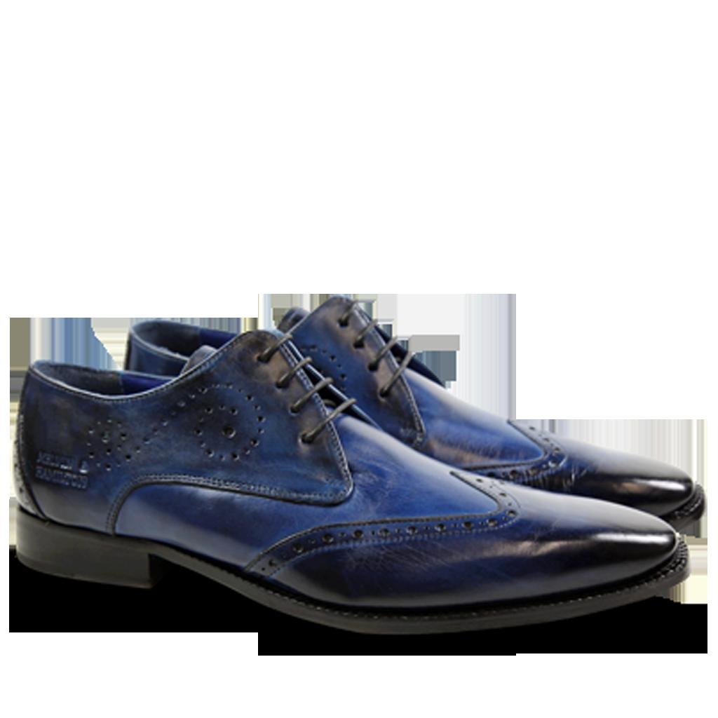 Artikel klicken und genauer betrachten! - Der Favorit unter den Herrenschuhen im Casual Chic Stil aus dem letzten Jahr ist zurück! Melvin & Hamilton´s Derby Schuhe Oskar 7 ist ein Klassiker in unseren Kollektionen: ein eleganter spitzer Lederschuh mit fein ausgearbeiteten Perforationen, der durch sein intensives Blau besonders originell ist. Diesen Derby Schuh brauchen Sie diesen Winter unbedingt! | im Online Shop kaufen