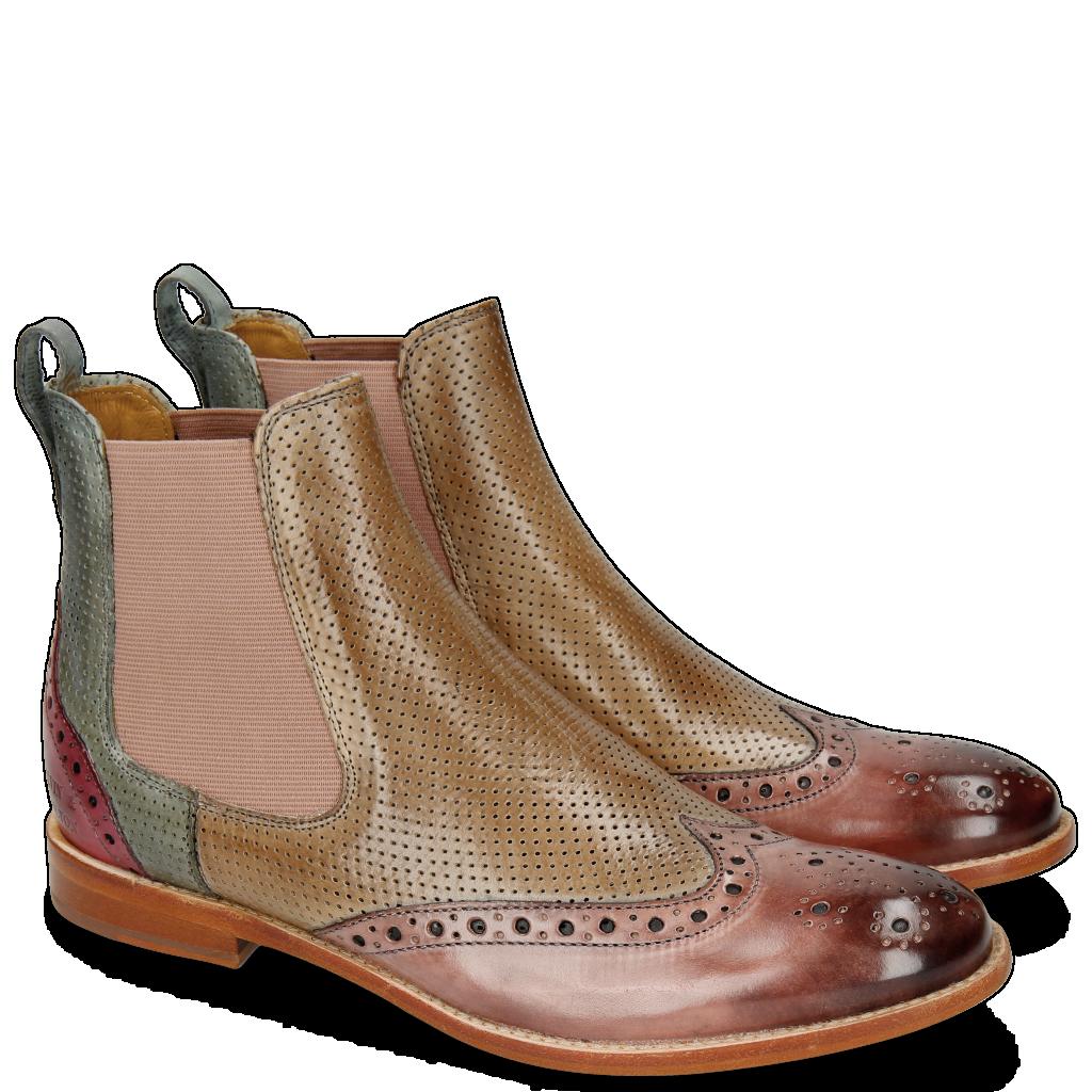 d00a72f182e9 Chaussures Femmes Bottines cuir