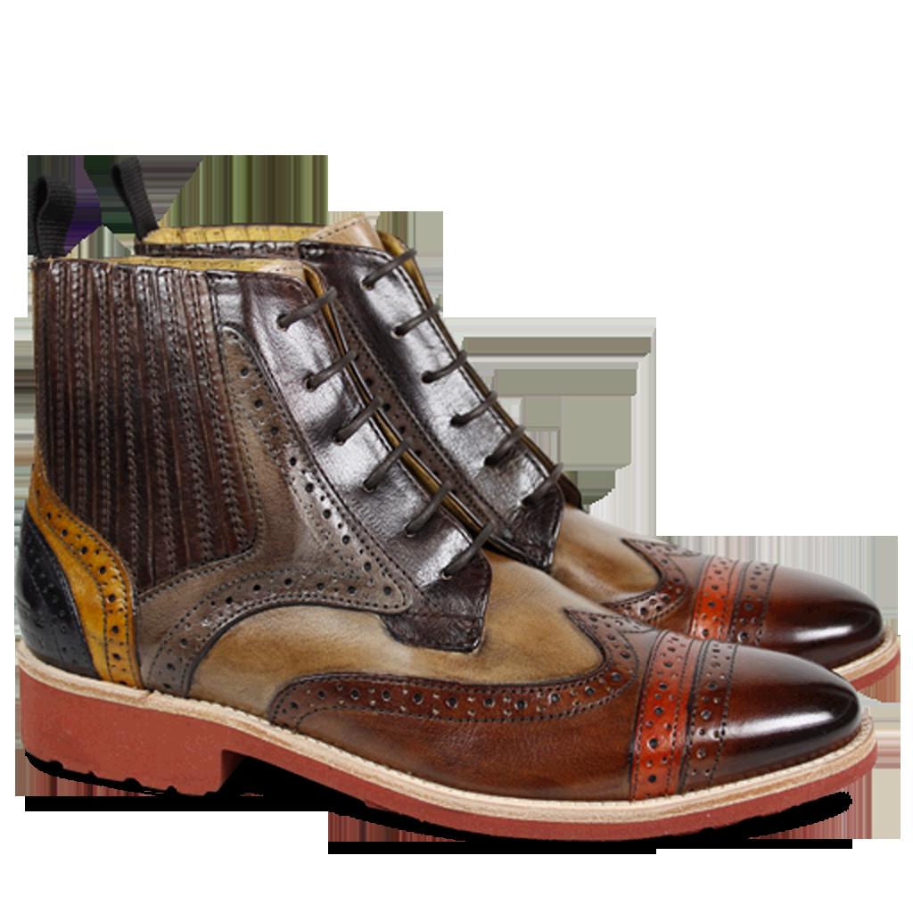 Melvin & Hamilton SELINA - Classic ankle boots - navy nmzLoC