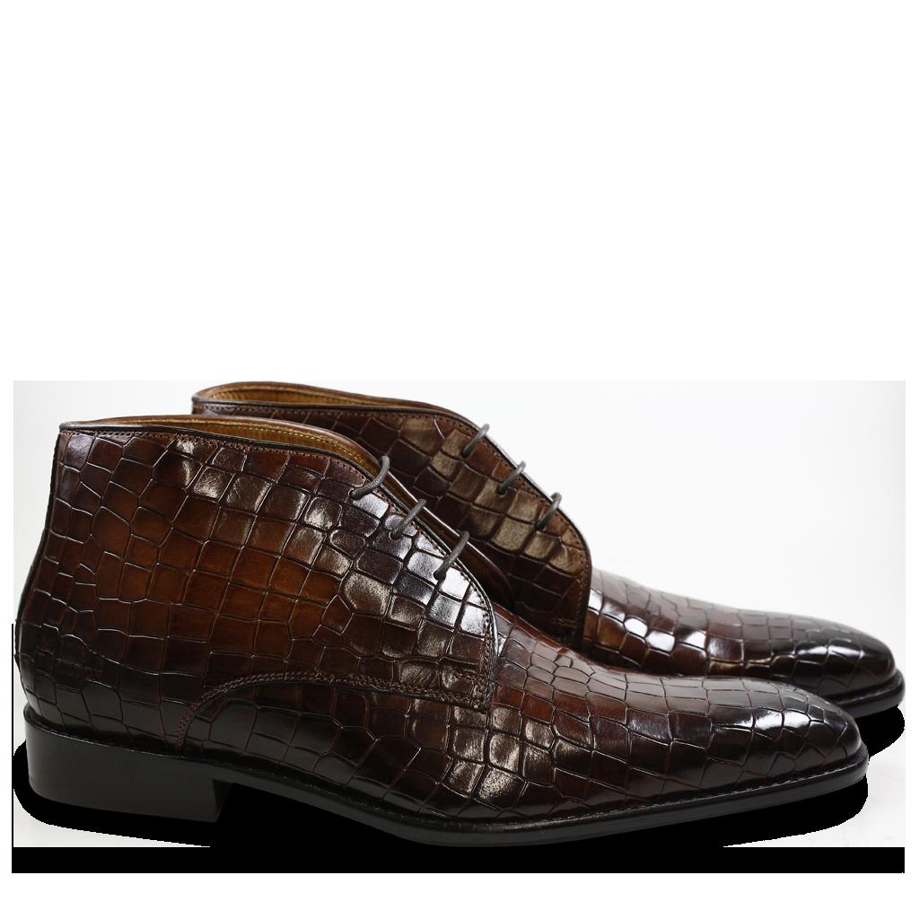 Melvin & Hamilton Smart lace-ups - rio mid brown/chocolate xnkLCkV8X