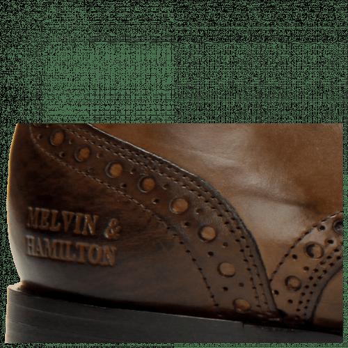 Derby Schuhe Kane 5 Dark Brown LS Brown
