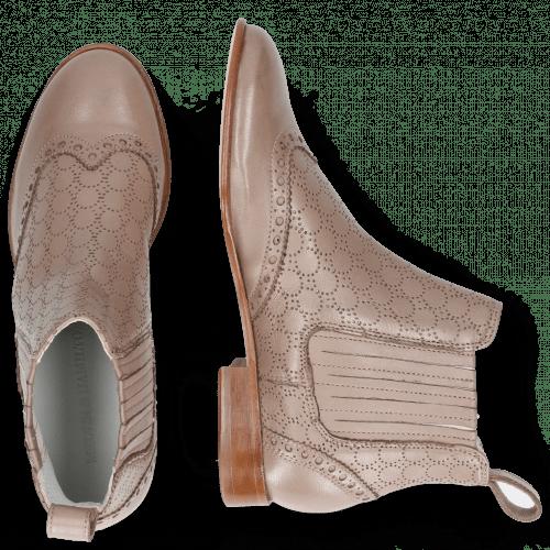 Stiefeletten Sally 129 Nappa Glove Stone