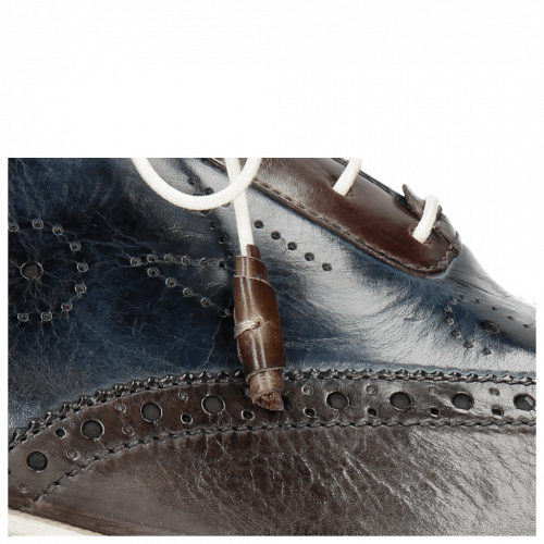 Oxford Schuhe Jeff 27 Grigio Helio Wine