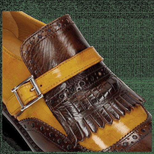 Monk Schuhe Selina 2 Mid Brown Ocra