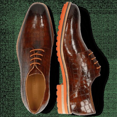 Derby Schuhe Tom 8 Crock Wood Aspen Orange