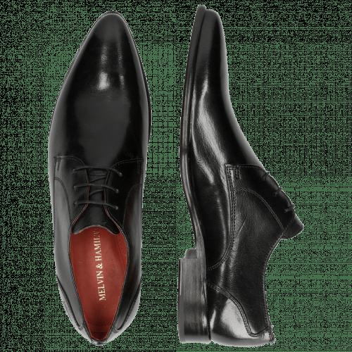 Derby Schuhe Toni 1 Classic Black LS