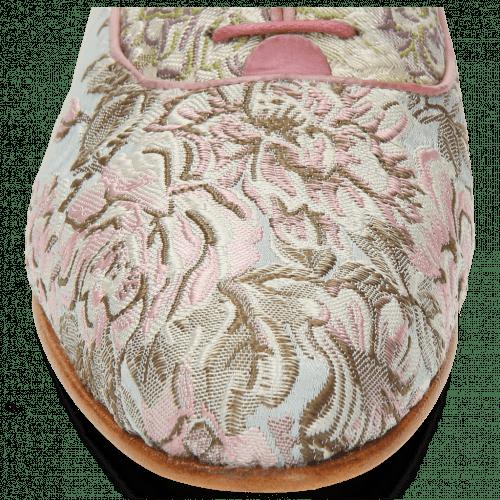 Oxford Schuhe Selina 4 Textile Victoria Rose Sand