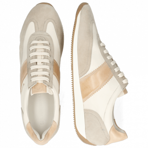 Sneakers Rocky 3 Oily Suede Off White Flex Nude Nappa Honey
