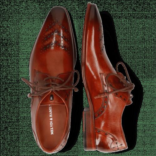 Derby Schuhe Elvis 1 Brandy Toledo