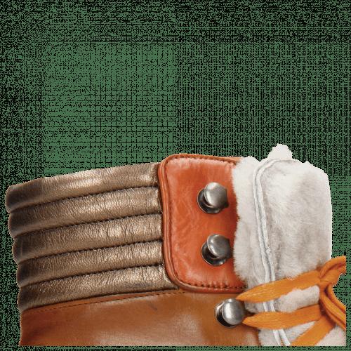 Stiefeletten Bonnie 10 Crock Wood Fur Taupe