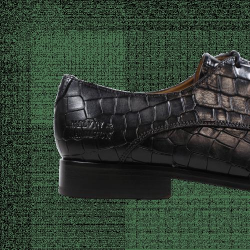 Derby Schuhe Jessy 5 Crock Black HRS