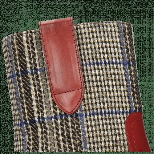 Stiefeletten Jessy 29 Ruby Textile Bambina