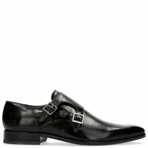 Monk Schuhe Rico 3 Rio Black
