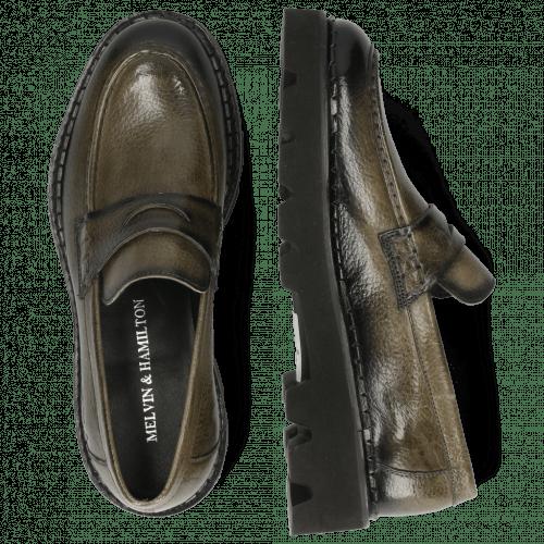 Loafers Jade 6 Prato Grey Shade Black