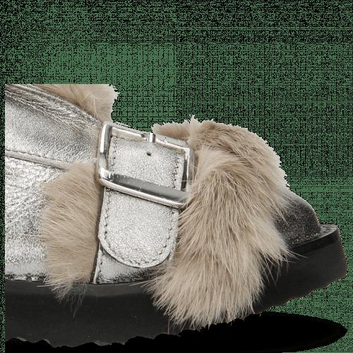 Stiefeletten Greta 4 Talca Steel Fur Taupe