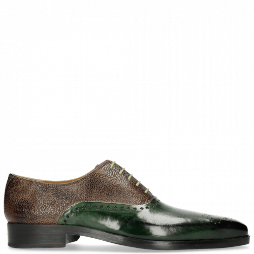 Oxford Schuhe Lewis 41 Prato Scotch Grain New Taupe