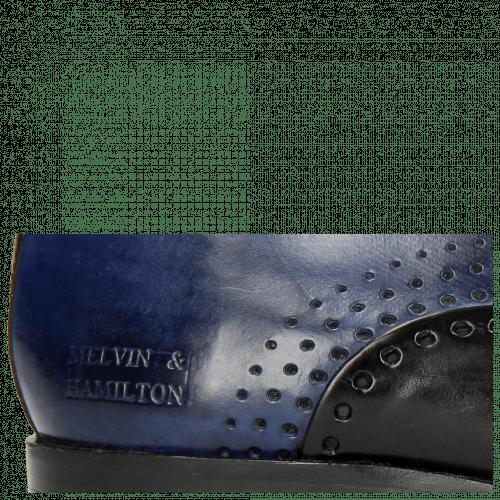 Oxford Schuhe Lewis 41 Black Midnight Blue