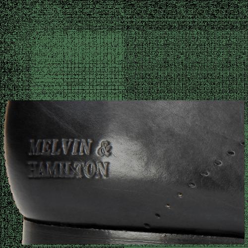 Derby Schuhe Sally 1 Navy HRS Black