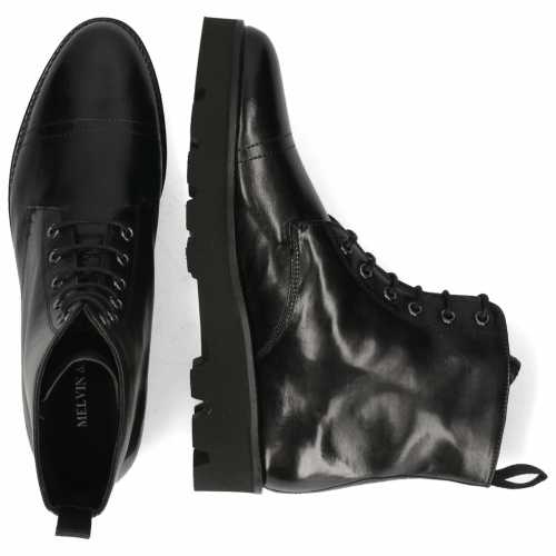 Stiefeletten Selina 51 Black Lining Nappa
