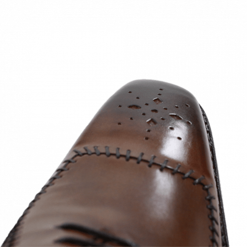 Oxford Schuhe Clark 2 Mink Tobacco LS Brown