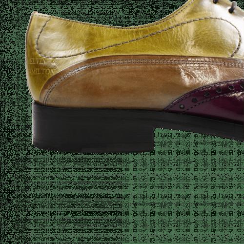 Oxford Schuhe Lewis 4 Eggplant Marble Cedro