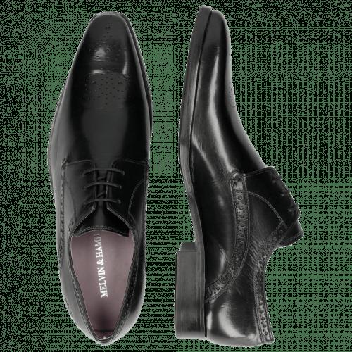 Derby Schuhe Lance 4 Crust Black HRS