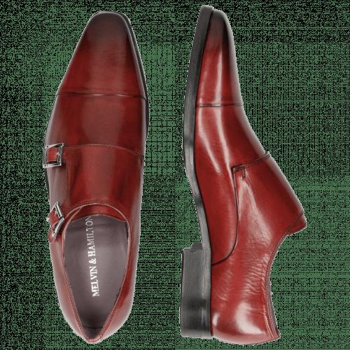 Monk Schuhe Lance 1 Red HRS