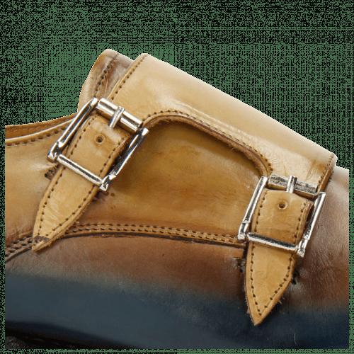 Monk Schuhe Tyler 3 Dark Brown