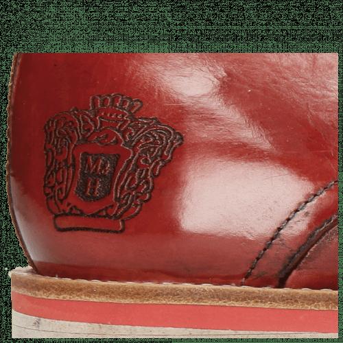 Derby Schuhe Lance 24 Ruby Lasercut Crown