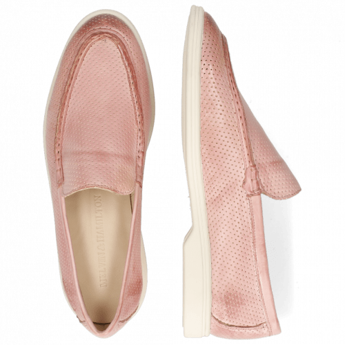 Loafers Adley 1 Imola Perfo Pale Rose