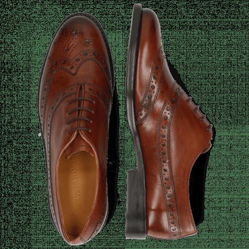 Oxford Schuhe Selina 8 Pisa Classic Brown