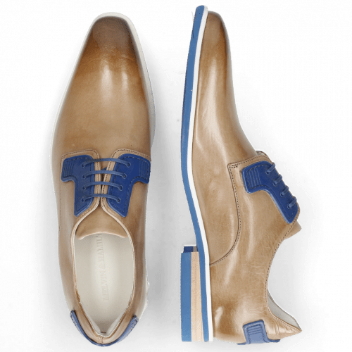 Derby Schuhe Dave 4 Tough Digital Electric Blue