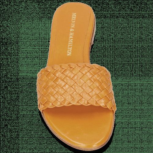 Pantoletten Hanna 26 Woven Orange
