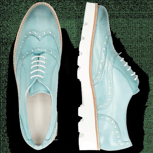 Oxford Schuhe Selina 24 Vegas Mermaid Punch Underlay