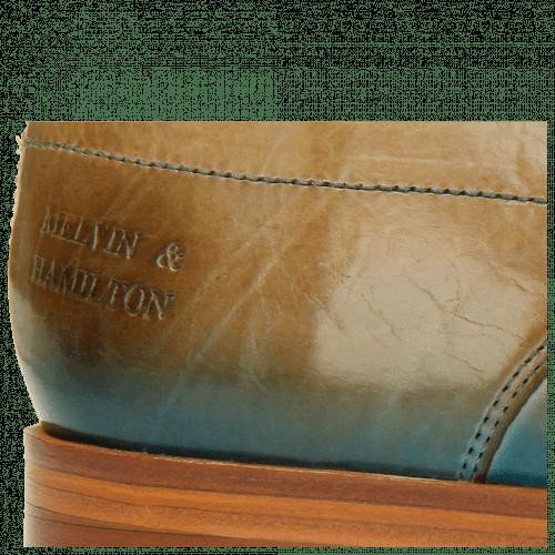 Derby Schuhe Lewis 9 Visone Shade Bluette