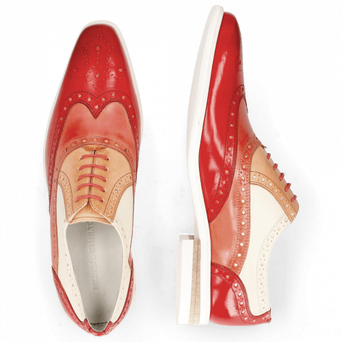 Oxford Schuhe Lance 14 Vegas Ruby Earthly Howline White Ruby