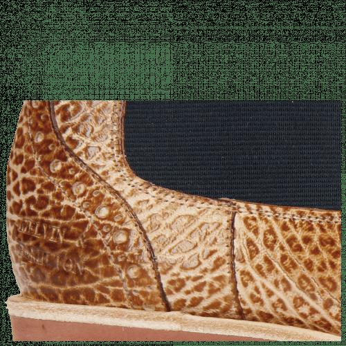 Stiefeletten Amelie 5 Brazil Soft Wood Elastic Navy
