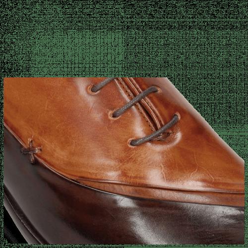 Oxford Schuhe Lance 44 Mogano Wood Tan