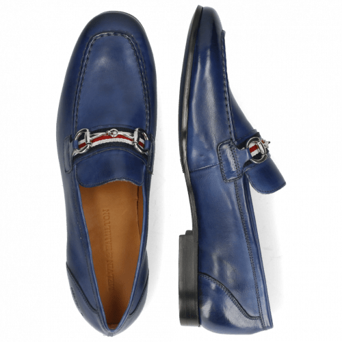 Loafers Clive 16 Imola Navy Strap French