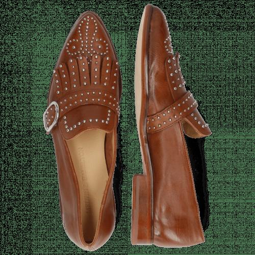 Monk Schuhe Jessy 26 Venice Pavia Tan