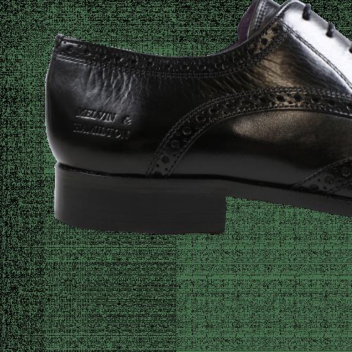 Derby Schuhe Lance 2 Crust Black HRS