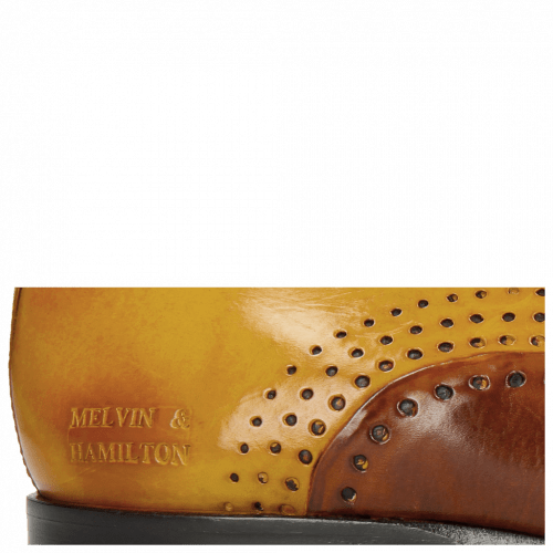 Oxford Schuhe Lewis 41 Wood Yellow