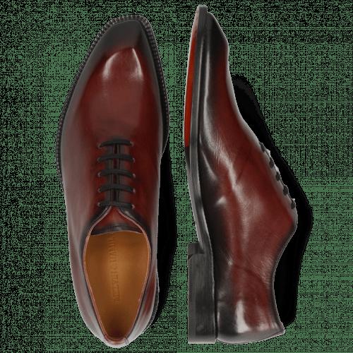 Oxford Schuhe Gaston 1 Plum Shade Black
