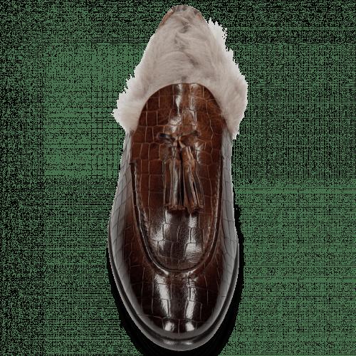 Loafers Clint 6 Crock Mid Brown Tassel