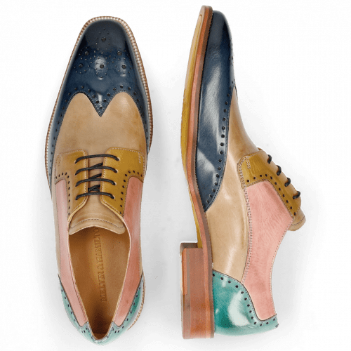 Derby Schuhe Jeff 14 Wind Digital Olivine Skin