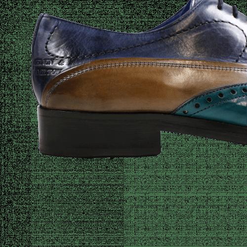 Oxford Schuhe Lewis 4 Turquoise Smog Navy