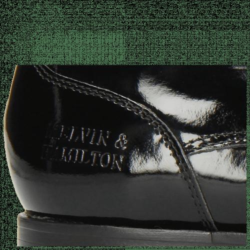 Derby Schuhe Kane 2 Patent Black