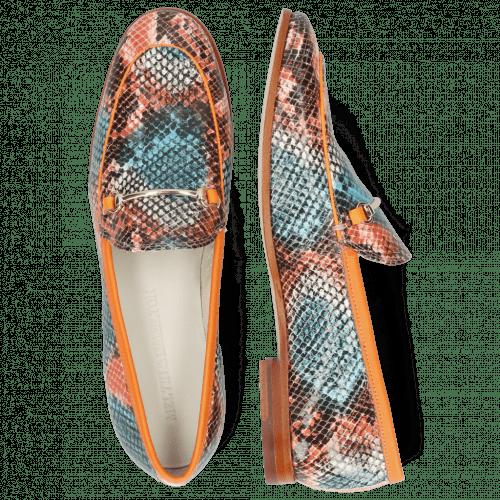 Loafers Scarlett 1 Snake King Multi Rust