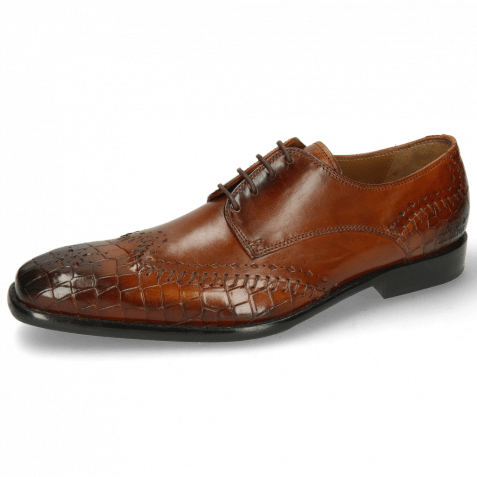 Derby Schuhe Clark 1 Crock Cognac Rich Tan